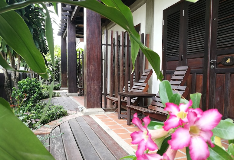 古代瑯勃拉邦酒店, 龍坡邦, 陽台