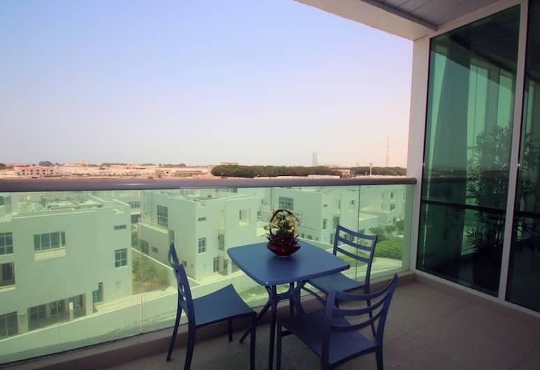E&T Holiday Homes - Hiliana, Dubajus, Apartamentai, 2 miegamieji, Balkonas