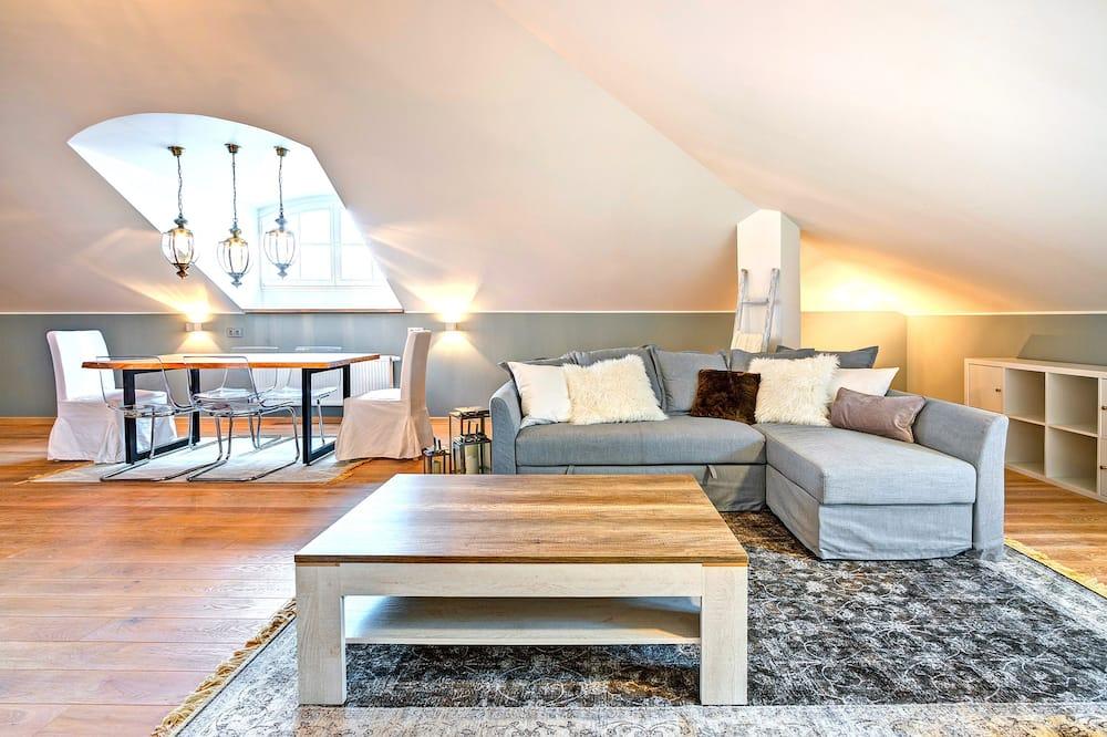 Luxury 2 Bedrooms Apartment (Didzioji St. 10)  - Living Area