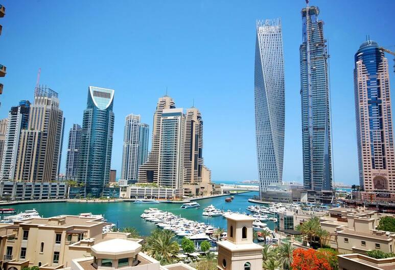 Kennedy Towers - Mesk Tower, Dubajus, Apartamentai, 2 miegamieji, vaizdas į jūrą, Kambarys