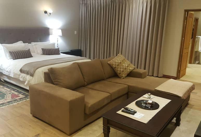 Executive Suite Woodmead East - Adults Only, Sandton, Apartmán typu Executive, Izba