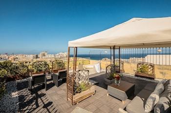 Valetta bölgesindeki La Vallette resmi