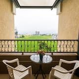 Panorāmas dzīvokļnumurs, vairākas gultas, skats uz pagalmu - Balkons