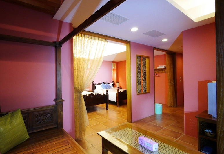 Dragon Resort of Hotel, Hengchun, חדר קומפורט לארבעה (Bali), חדר אורחים