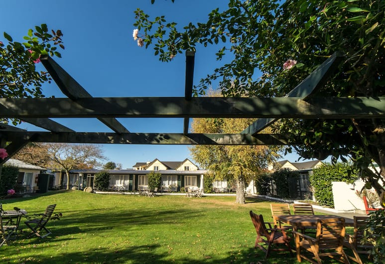 Avonhead Garden Motel, Christchurch, Innergård