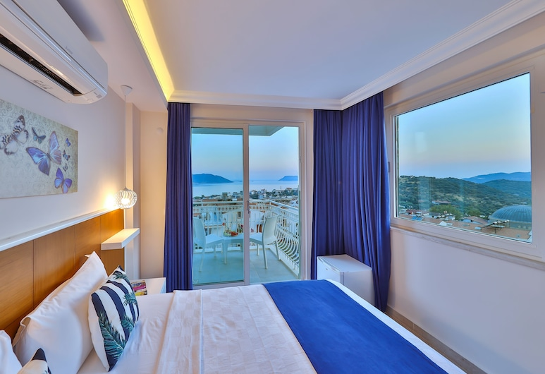 Kas Artemis Hotel, Kas, Deluxe Double or Twin Room, Sea View, Bilik Tamu