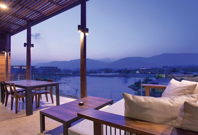Atta Lakeside Resort Suite, Pak Chong, Penthouse with Private Pool, Terrace/Patio