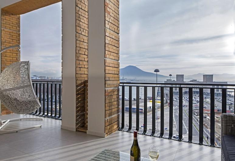 Relais Castel Nuovo, Naples, Suite-Estúdio Royal, 1 Quarto, Kitchenette, Vista Mar, Terraço/Pátio Interior