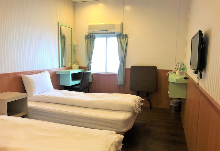 英倫旅店, 台東市, 標準雙床房, 客房