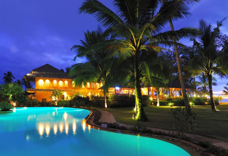 Andamania Beach Resort, Takua Pa, Udendørs pool