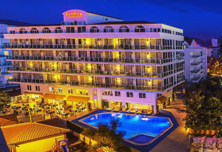 Sun Bay Park Hotel - All Inclusive, Marmaris, Havadan Görünüm