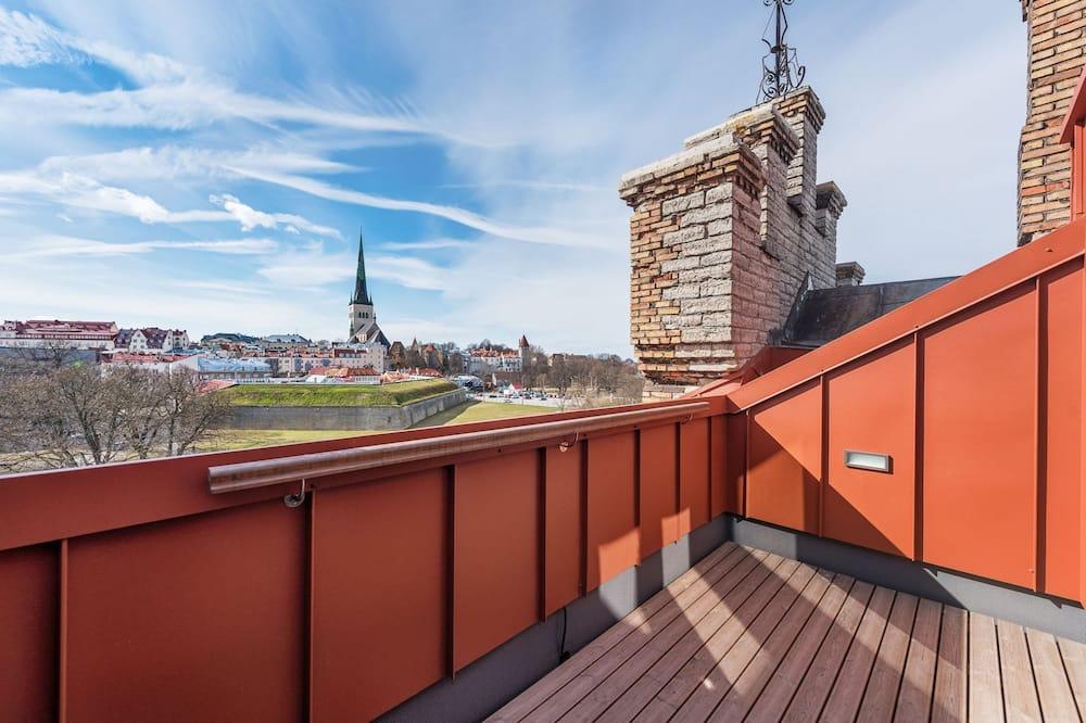 Superior Studio, 1 Double Bed with Sofa bed, Balcony, City View - Balcony