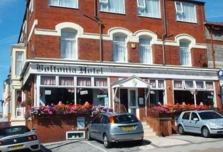 Boltonia, Blackpool, Fachada del hotel
