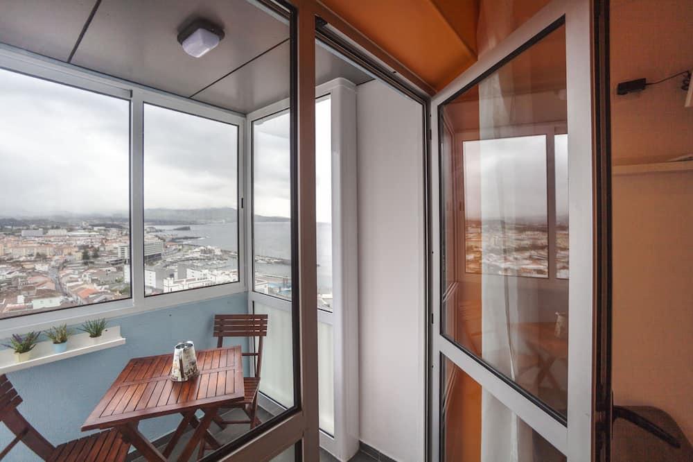 Pokój dwuosobowy z 1 lub 2 łóżkami, wspólna łazienka (Balcony) - Balkon