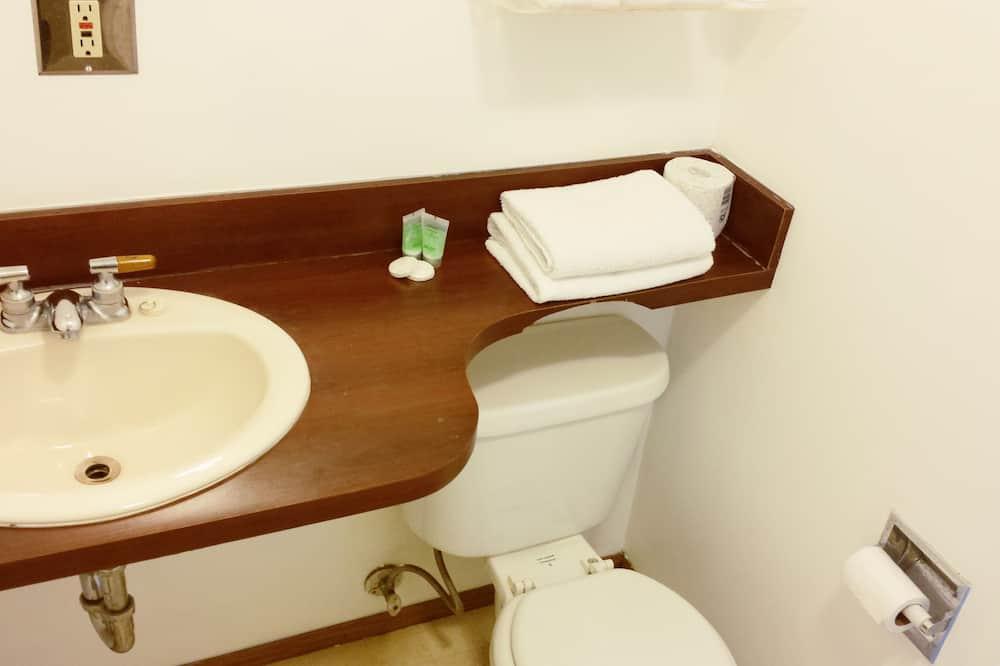 Economy Tek Büyük Yataklı Oda, 2 Büyük (Queen) Boy Yatak - Banyo