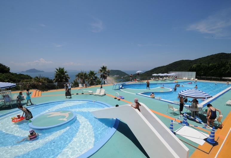 伊良湖景飯店, 田原, 滑水道