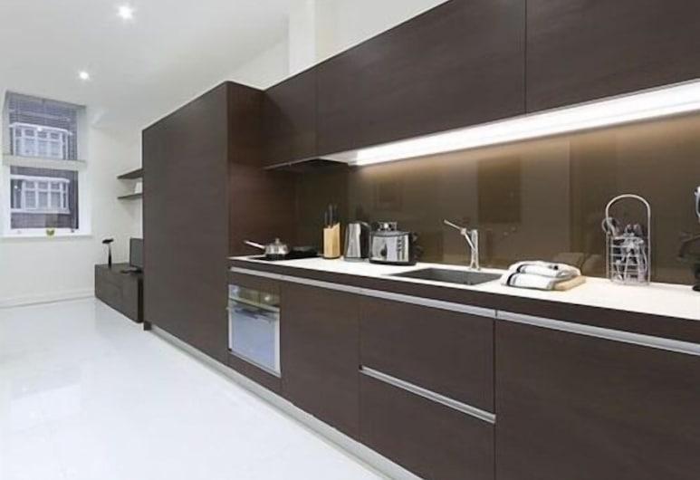 Bloomsbury - Serviced Apartments, Londýn, Štúdio typu Premium, súkromná kúpeľňa, Súkromná kuchyňa