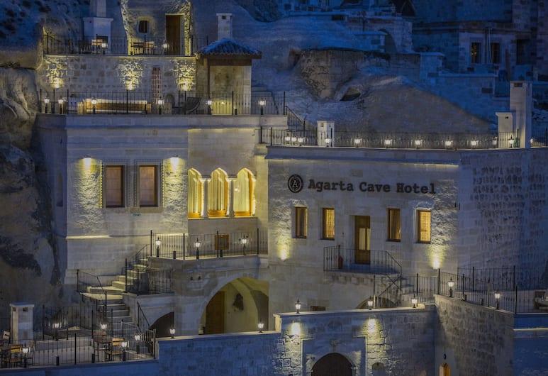 Agarta Cave Hotel, Avanos, Hotel Front – Evening/Night