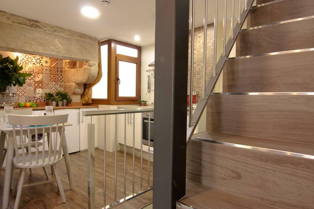 Comfort-Apartment, 1 Schlafzimmer, Stadtblick - Wohnbereich