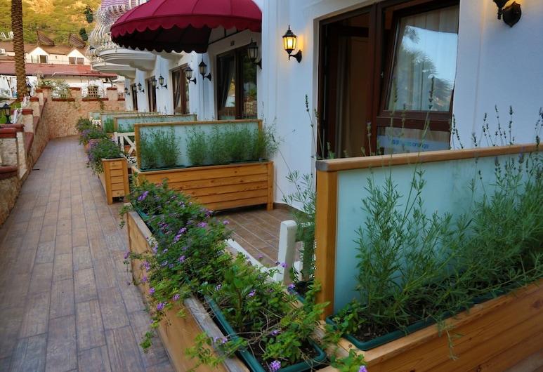 S3 Orange Exclusive Hotel, Fethiye, Comfort tweepersoonskamer, Terras