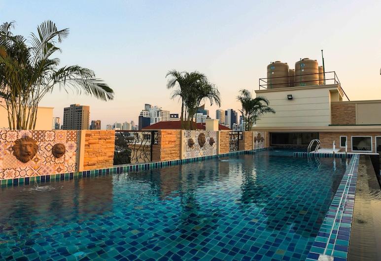 アスピラ ハナ レジデンス トンロー, バンコク, 屋外プール