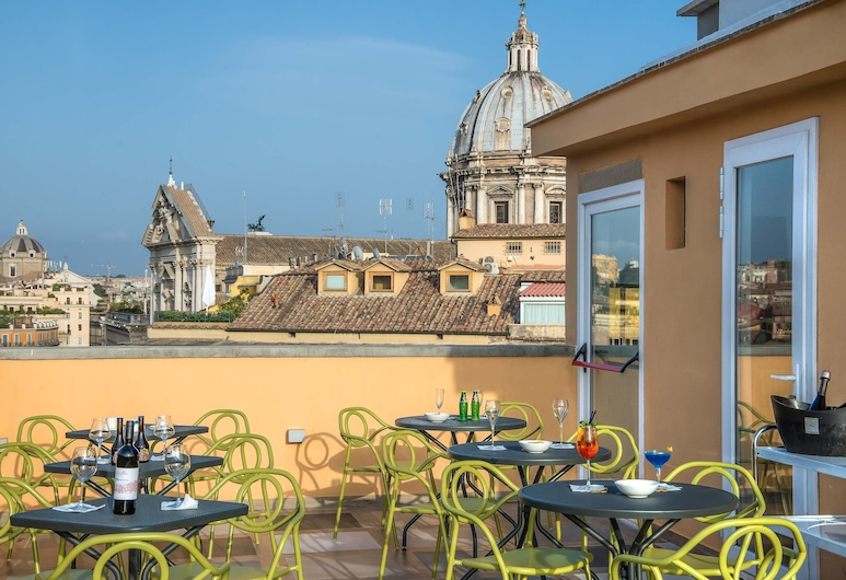 Damaso Hotel, Rome, Outdoor Dining