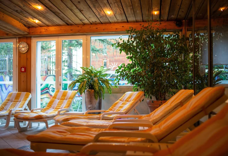 Hotel & Solebad Arca, Zermatt, Indendørs pool
