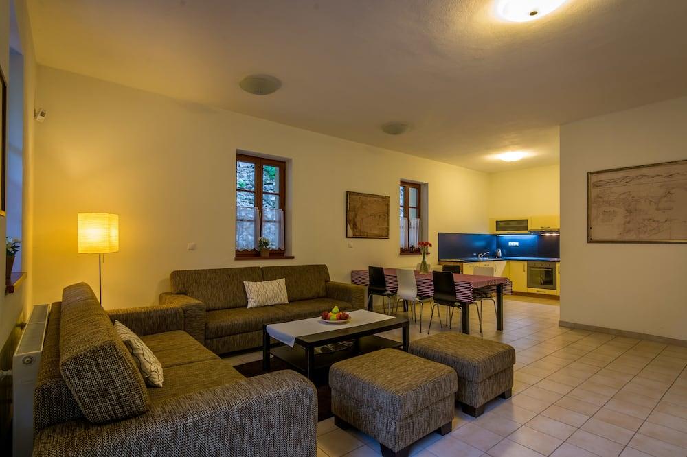 Comfort külaliskorter, 3 magamistoaga - Lõõgastumisala