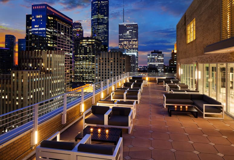 Le Meridien Houston Downtown, Houston, Terraza o patio