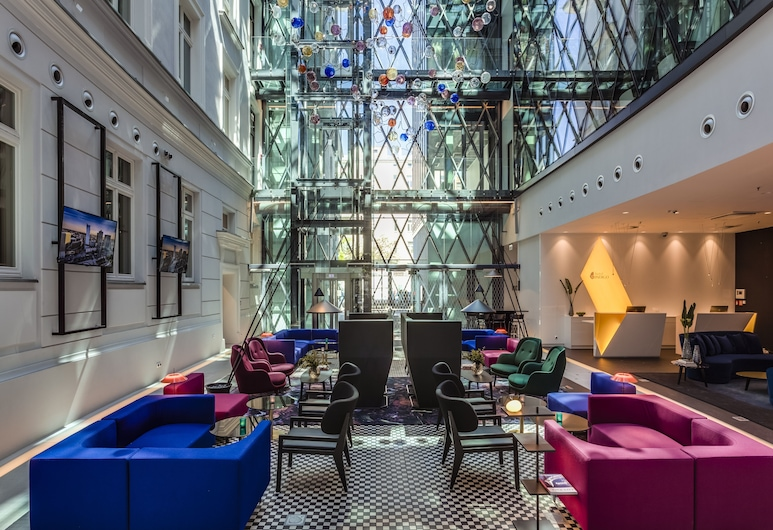호텔 인디고 바르샤바 - 노비 쉬비아트, 바르샤바, 로비