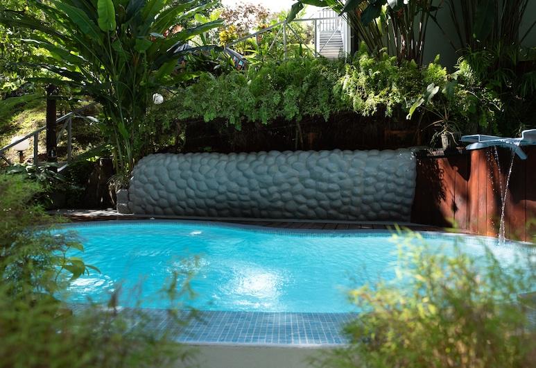 火山金閣樓酒店, La Fortuna, 室外泳池