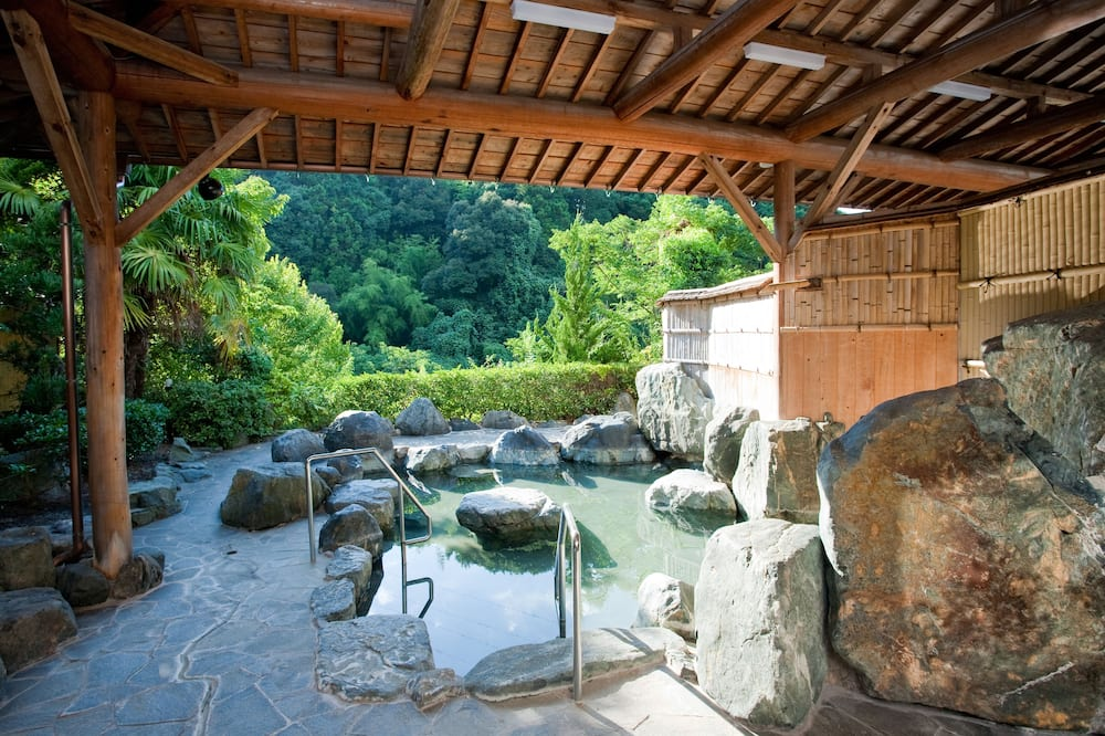 Japanese-Style Superior Room with Shared Bathroom - Natural Pool