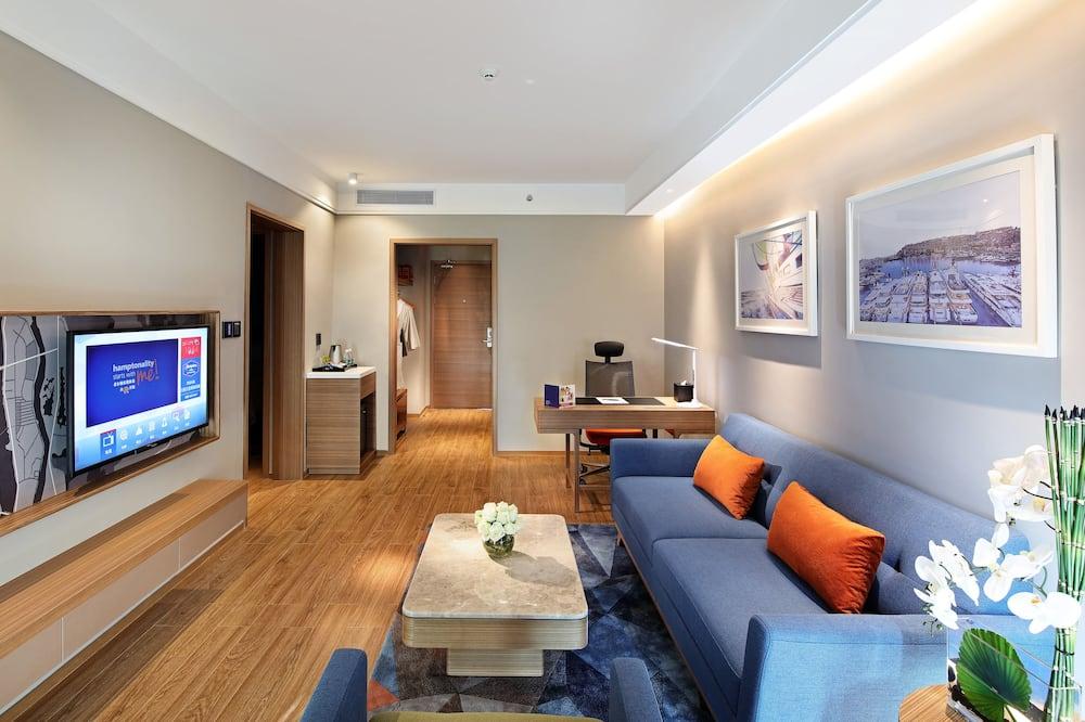 Phòng Suite dành cho gia đình, Quang cảnh sông - Khu phòng khách