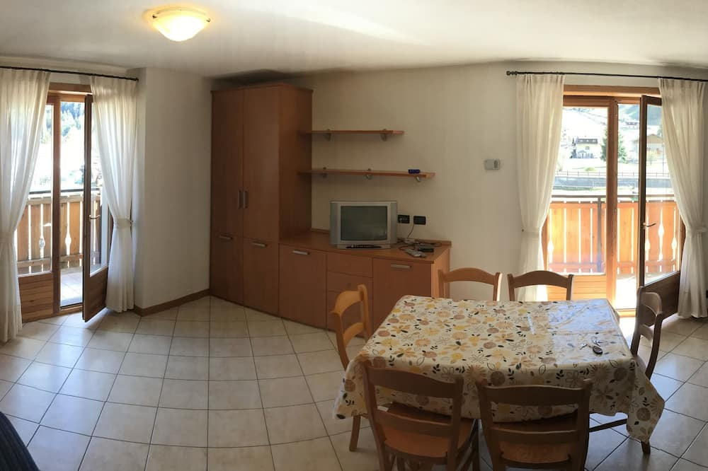 Lägenhet Panoramic - 1 sovrum - utsikt mot bergen - Vardagsrum