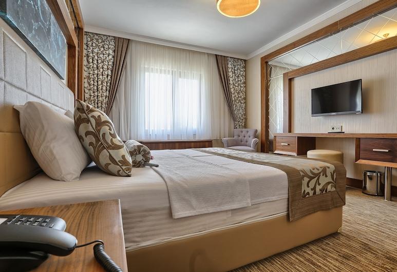城市旅居飯店, 安卡拉, 奢華雙人房, 花園景觀, 客房