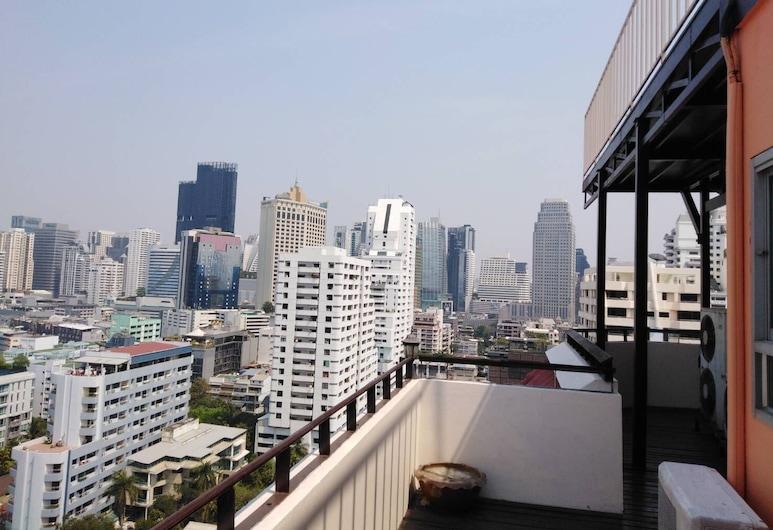 Tèja Hotel, Bangkok, Topfloor 1 Bedroom, Balcony