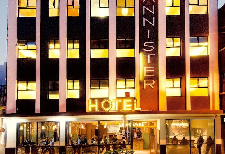 Bannister Hotel, Joanesburgo, Fachada do Hotel - Tarde/Noite