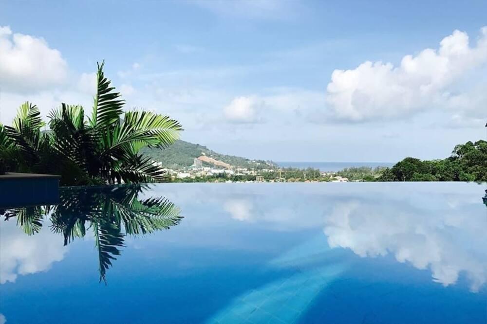 Pemandangan dari properti