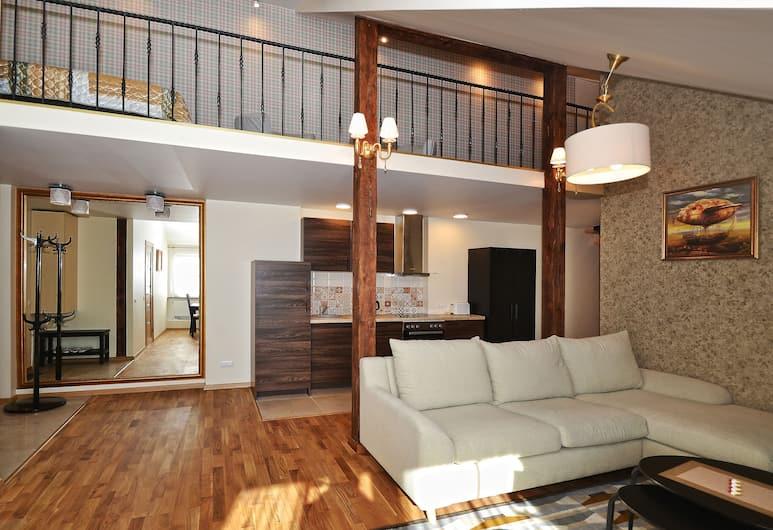 Rentida Apartments, Wilno, Apartament, 2 sypialnie, Powierzchnia mieszkalna