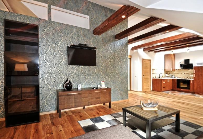Rentida Apartments, Wilno, Apartament standardowy, Powierzchnia mieszkalna