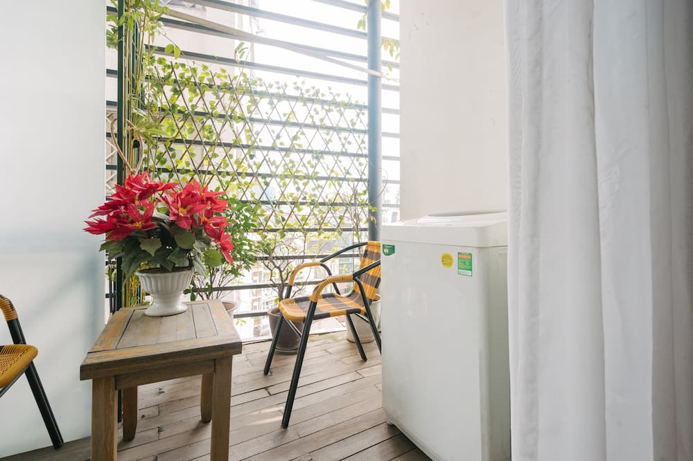 Appartement Deluxe (Alley View) - Balcon