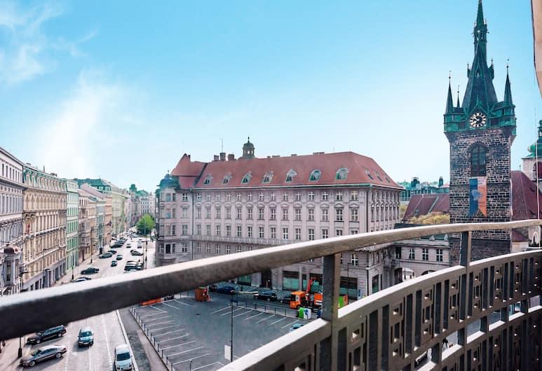 Slovansky Dum Boutique Apartments, Praga, Vista dalla struttura