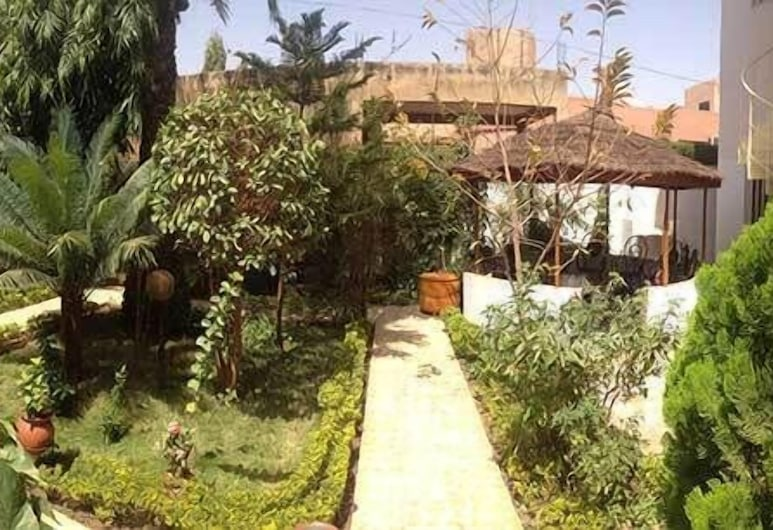 Residence Diane, Ouagadougou, Giardino