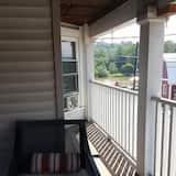 Camera Deluxe, 1 letto queen, balcone, vista fiume - Balcone