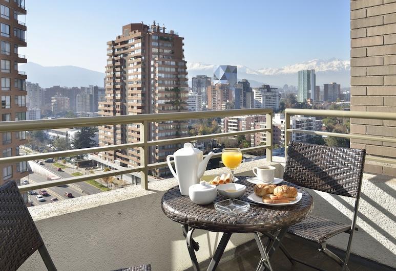 ノルス アパートメンツ ラス コンデス, サンティアゴ, ファミリー アパートメント 2 ベッドルーム, テラス / パティオ