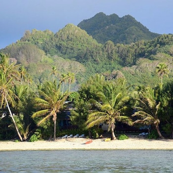Picture of Tianas Beach in Rarotonga