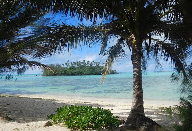 Tianas Beach, Rarotonga, Hotelgelände