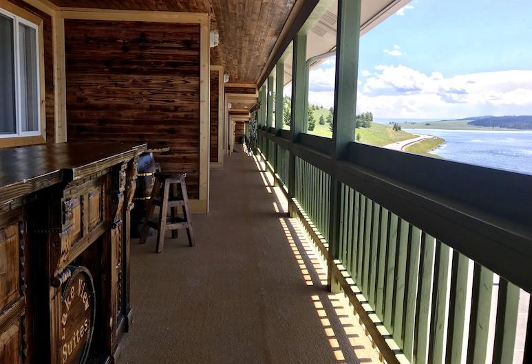 Lake View Suites, West Yellowstone, Apartmán typu Comfort, výhľad na jazero, Balkón