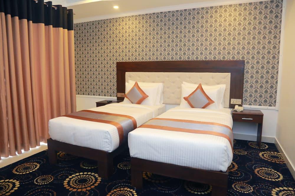 Двухместный номер «Делюкс» с 1 двуспальной кроватью - Гостиная