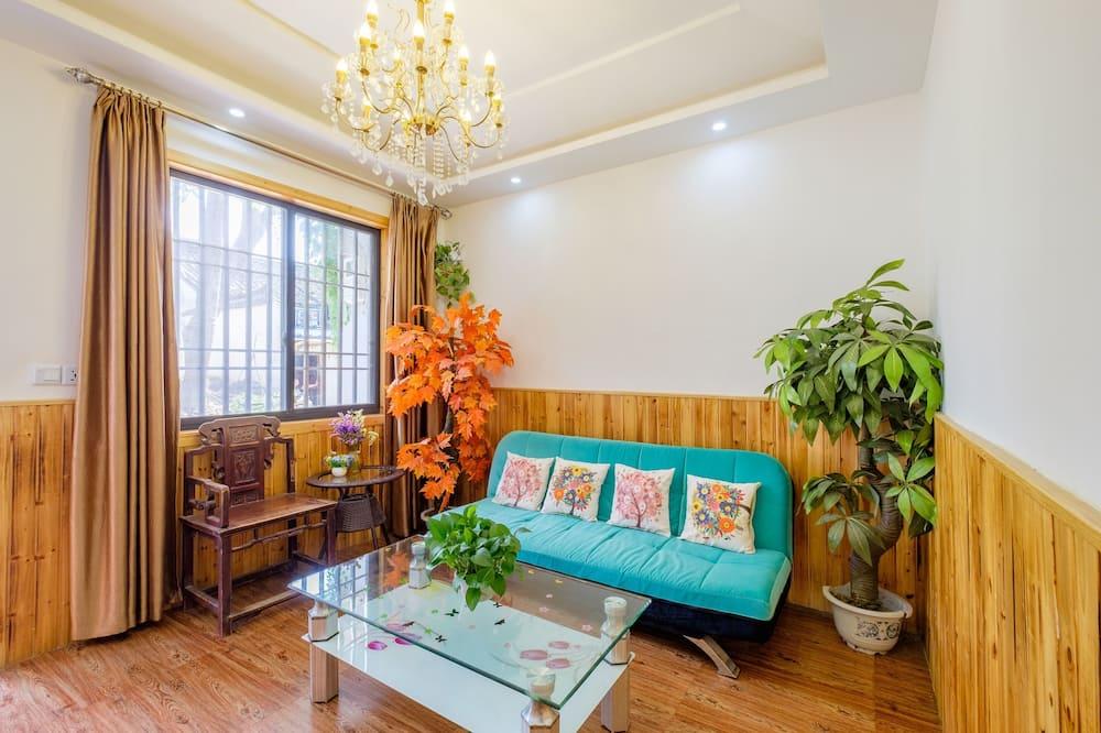 Habitación doble de diseño - Sala de estar
